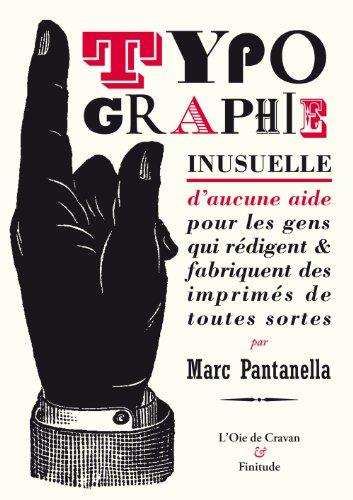 Typographie inusuelle: Pantanella, Marc