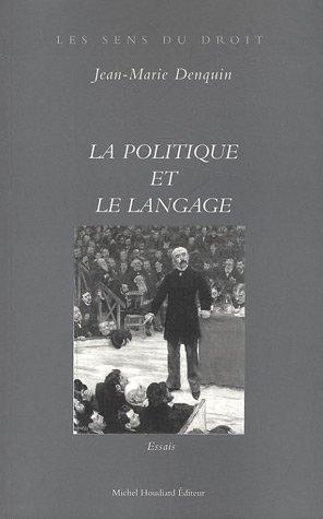9782912673695: La politique et le langage