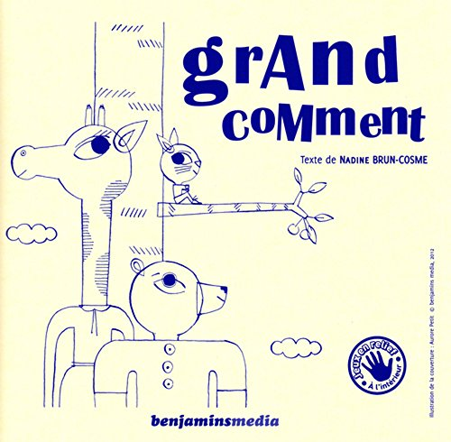 9782912754608: Grand Comment (+ CD + Braille) (English and French Edition)