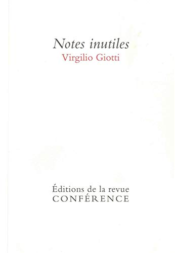 NOTES INUTILES: GIOTTI VIRGILIO