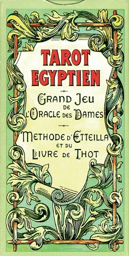 9782912791184: Tarot Egyptien, Grand Jeu de Oracle des Dames: Method D'Etteilla et du Livre de Thot