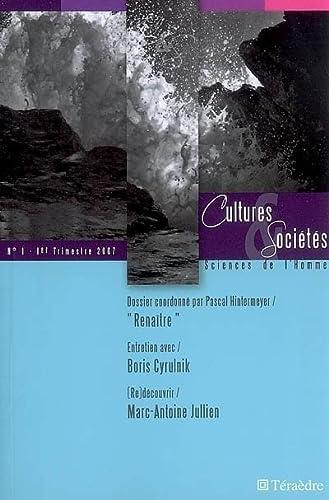 9782912868367: Cultures & soci�t�s, no 01