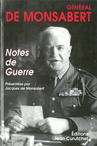 9782912932129: Notes de guerre (French Edition)