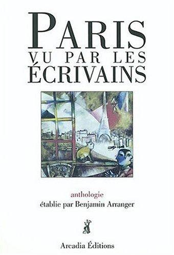 9782913019171: paris vu par les ecrivains: anthologie