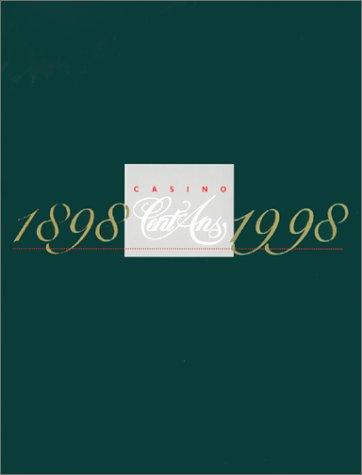 9782913030008: CASINO, CENT ANS : 1884-1998