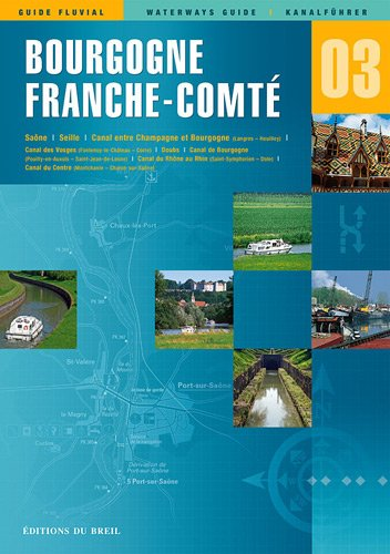 9782913120037: Waterways Guide: Bourgogne, Franche Comte