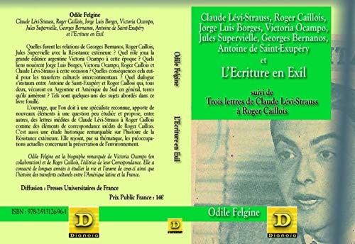9782913126961: L'Ecriture en exil