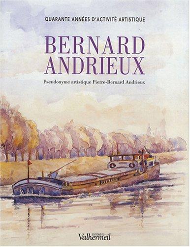 9782913328990: Bernard Andrieux : Quarante années d'activité artistique