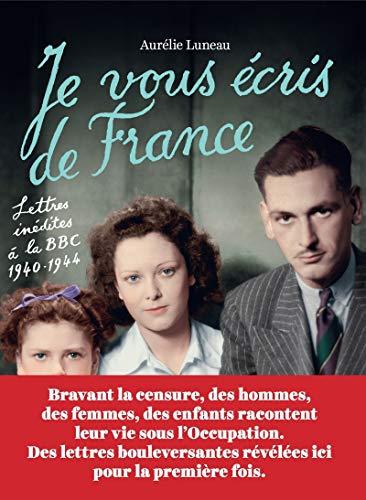 9782913366657: Je vous écris de France
