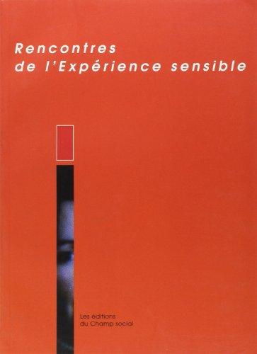 9782913376137: L'exp�rience sensible