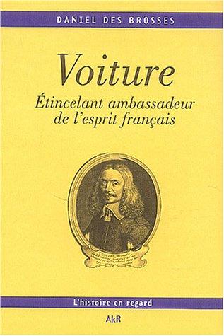 VINCENT VOITURE ETINCELANT AMBASSADEUR DE L'ESPRIT FRANCAIS 1 CD: BROSSES, DANIEL DES