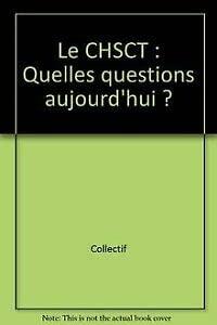 9782913488083: Le CHSCT : Quelles questions aujourd'hui ?