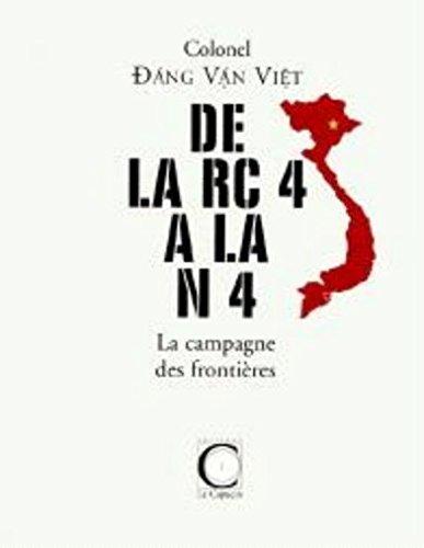 9782913493216: De la rc4 a la n4, la campagne des frontieres (Histoire&Histoires)