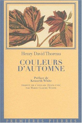 9782913534032: Couleur d automne (French Edition)