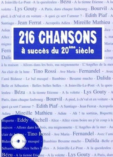 9782913596191: 216 chansons � succ�s du 20�me si�cle