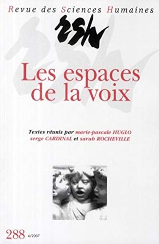 Espaces de la Voix (French Edition): Huglo M P