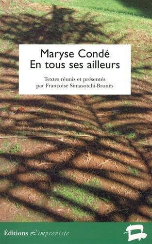 9782913764576: Maryse Condé en tous ses ailleurs