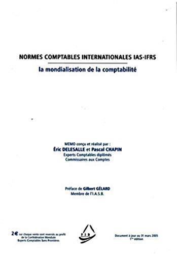 Normes comptables internationales IAS-IFRS (French Edition): Pascal Chapin