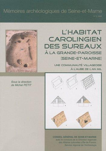 9782913853102: L'habitat carolingien des Sureaux à la Grande-Paroisse (Seine-et-Marne) : une communauté villageoise à l'aube de l'an mil