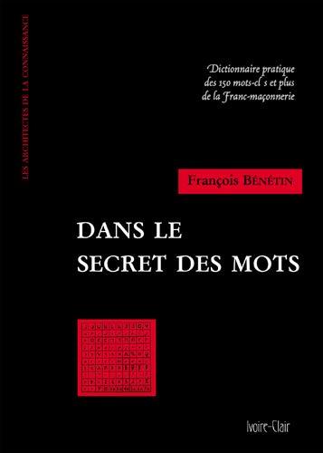 9782913882379: Dans le secret des mots (French Edition)