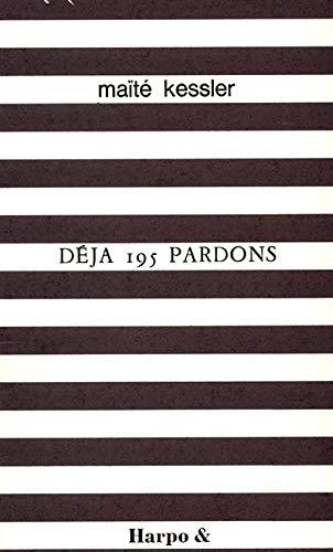 9782913886308: D�j� 195 pardons