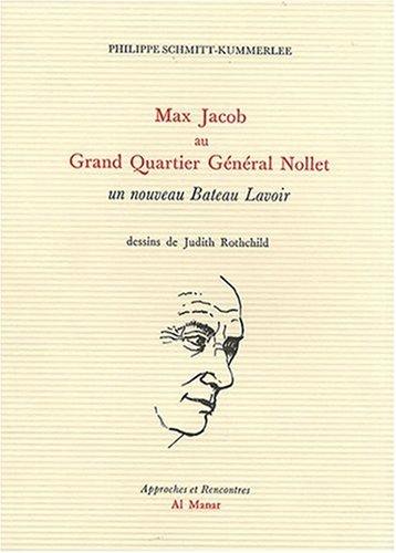 9782913896550: Max Jacob au Grand Quartier Général Nollet
