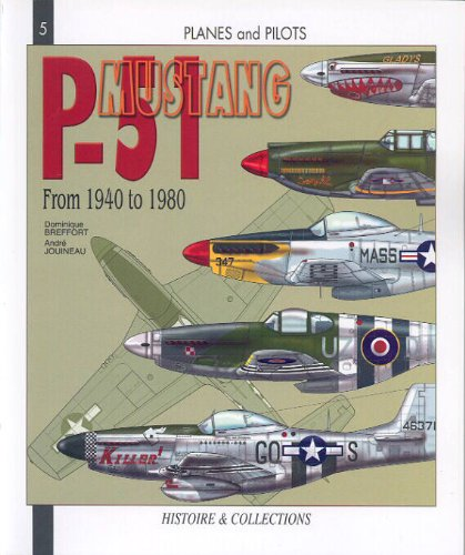 P-51 Mustang From 1940 to 1980 (Planes and Pilots 5): Breffort, Dominique/Jouineau, Andre/McKay, ...