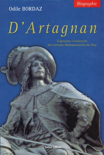9782913907201: D'Artagnan, mousquetaire du Roi