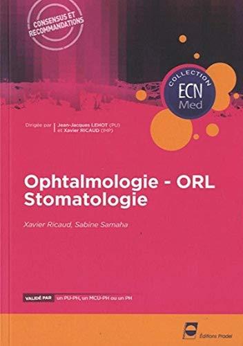 9782913996946: Ophtalmologie, ORL, Stomatologie