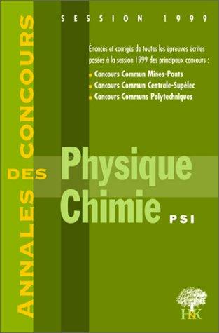 9782914010047: Math�matiques, PSI : [session] 1999