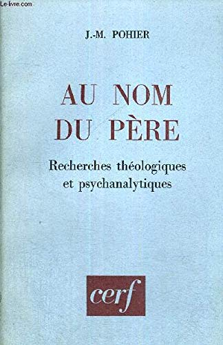 9782914012546: Au Nom du Pere