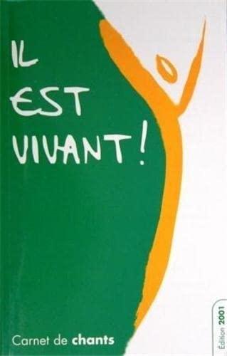 9782914083447: Carnet de Chants 2001 Grand Format avec Supplement 2005 - Il Est Vivant