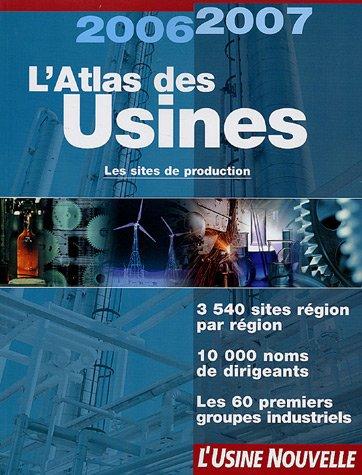 9782914131872: L'Atlas des usines