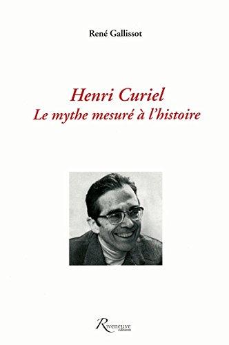 9782914214872: Henri Curiel