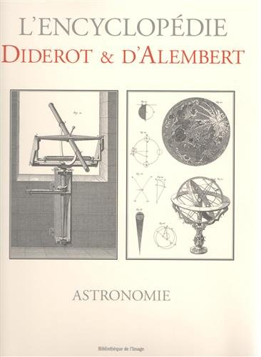 Astronomie (German Edition) (2914239769) by Diderot; D'Alembert