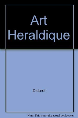 Art Heraldique (291423984X) by Diderot; D'Alembert