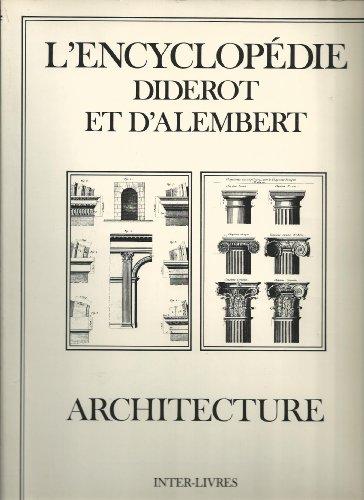 9782914239905: Architecture (L'Encyclopédie Diderot)