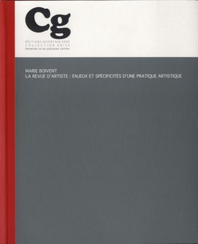 9782914291620: La revue d'artiste : enjeux et spécificités d'une pratique artistique