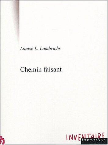 9782914412131: Chemin faisant (Textes)