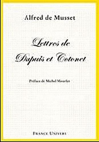 9782914437226: Lettres de Dupuis et Cotonet