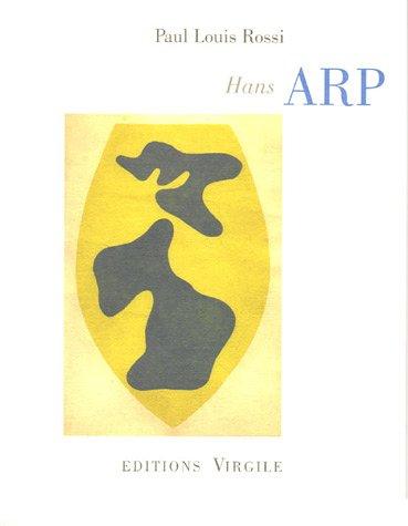 9782914481472: Hans Arp (French Edition)