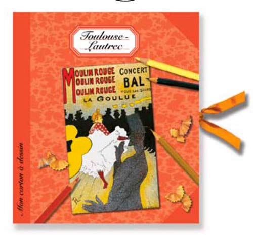 9782914506557: Mon carton à dessin Toulouse Lautrec (French Edition)