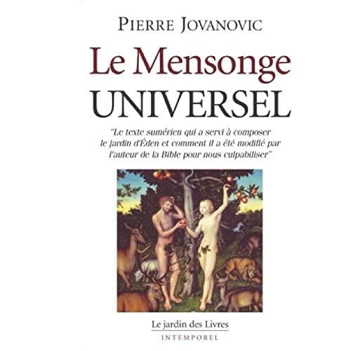 9782914569774: Le mensonge universel (Intemporel)