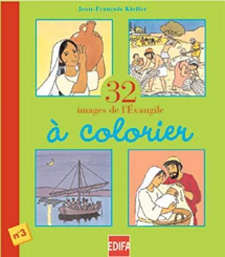 32 images de l'évangile à colorier, numéro: Jean-François Kieffer