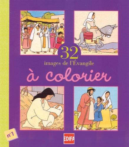 32 images de l'évangile à colorier, numéro: Kieffer, Jean-François