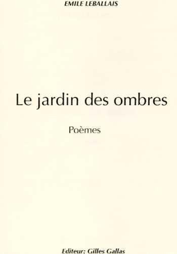 9782914651592: Le Jardin des Ombres