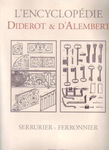 9782914661287: SERRURIER - FERRONNIER Recueil de Planches, sur les sciences, les arts libéraux et les arts méchaniques aves leur explication