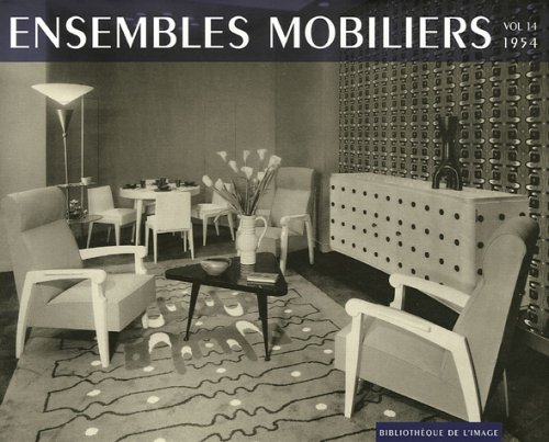 9782914661751: Ensembles mobiliers 1954 (Set of 18 Volumes)