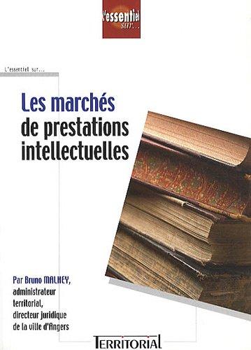 9782914726092: Les marches de prestations intellectuelles (French Edition)