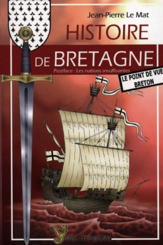 9782914855242: History of Brittany: The Breton Point of View